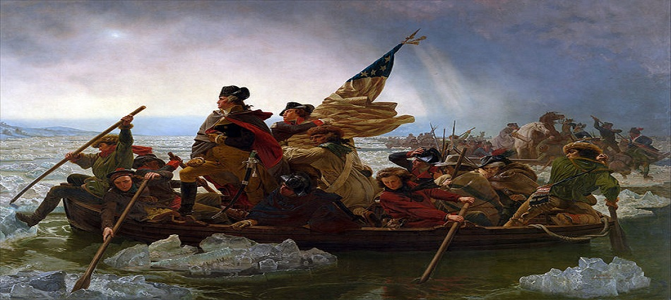 The American Revolution: George Washington Crossing the Delaware