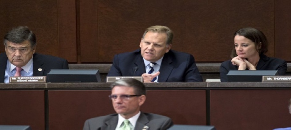 House Intelligence Committee: Ranking Democrate Rep. C.A. Ruppersberger (Left) Chairman Mike Rogers (R-Mich) (Right)